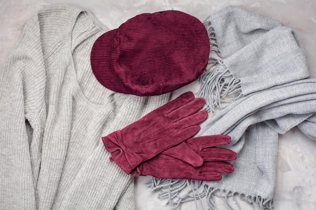 Tenue chaude pour temps froid. Photo Premium