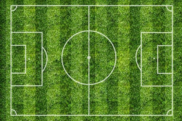 Terrain de football Photo Premium