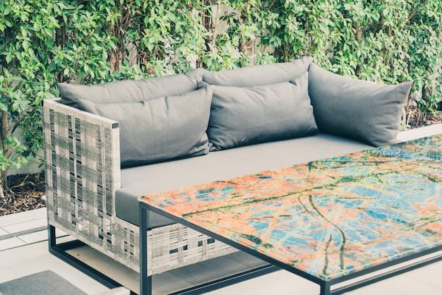 Terrasse vide belle terrasse Photo gratuit