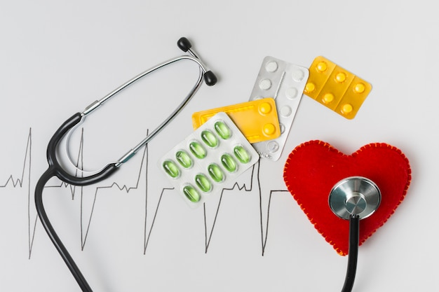 Test cardiaque Photo gratuit