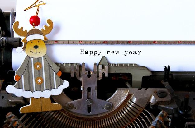 Texte de bonne année Photo Premium