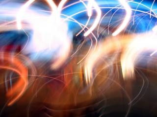 Texte de présentation de lumière Photo gratuit