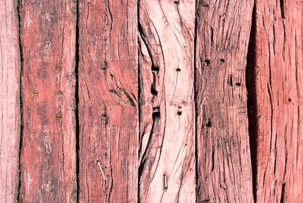 Texture abstraite du vieux fond de bois Photo Premium