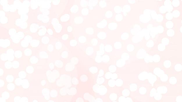 Texture abstraite des lumières de noël bokeh en rose Photo gratuit