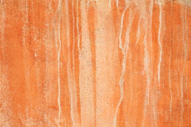 Texture d'arrière-plan de mur d'argile rouge naturel terre. Photo Premium