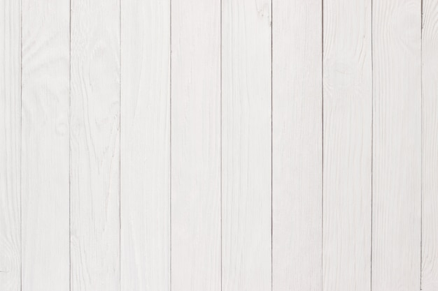 Texture En Bois Peint, Table Ou Sol Blanc Photo Premium