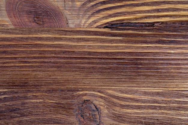 Texture de bois précieux. d'aspect rustique et de tons sombres, ocres, bruns, grillés et noirs. les veines et les nœuds sont appréciés. Photo Premium