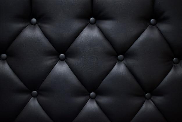 Texture de canapé de couleur noire Photo Premium