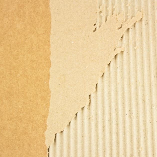 Texture de carton cassé grunge Photo Premium