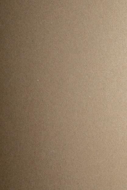 Texture De Carton Kraft. Copiez L'espace. Photo Premium
