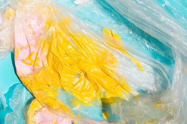 Texture de cellophane brillante peinte Photo gratuit