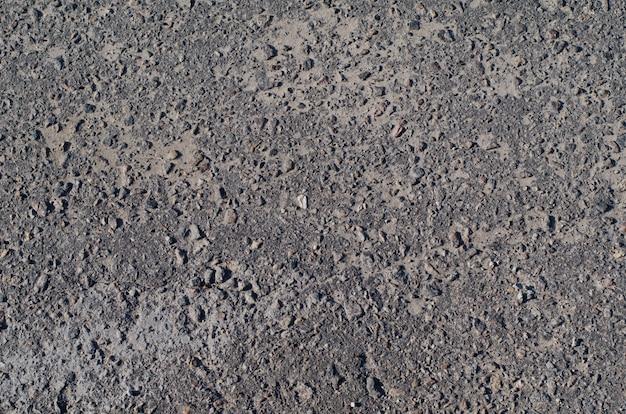 Texture De La Chaussée En Béton Bitumineux Avec Un Filet De Fissures Photo Premium