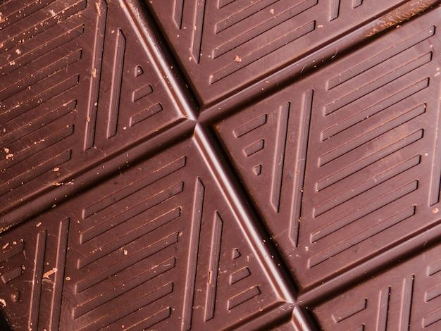 Texture chocolat noir Photo gratuit