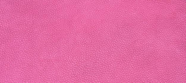 Texture en cuir rose Photo gratuit