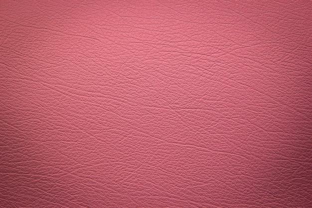 Texture de cuir rose Photo Premium