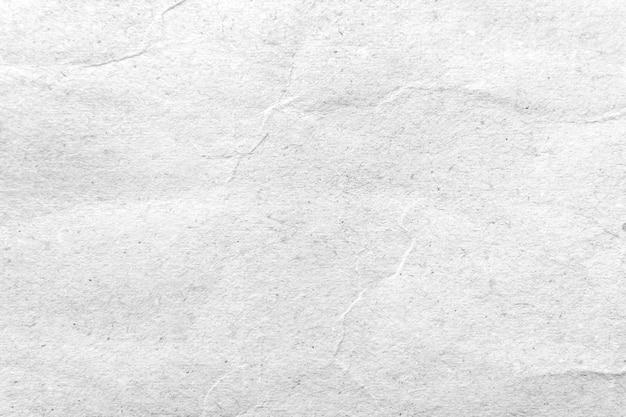 Texture Du Papier. Fond De Papier Froissé Blanc. Photo Premium