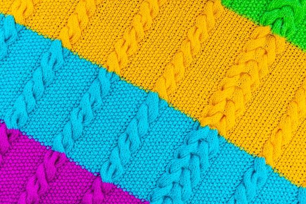 La texture du tricot Photo Premium