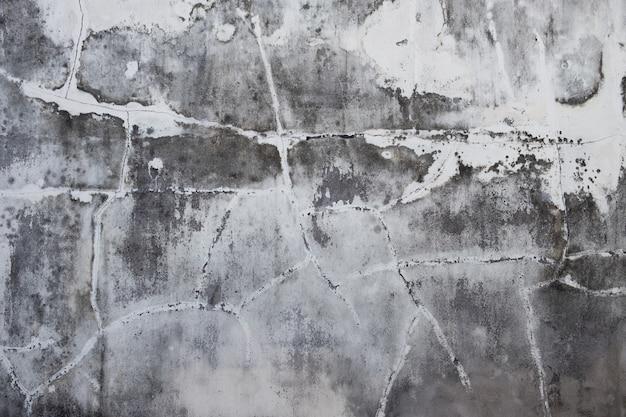 Texture du vieux mur de stuc en béton gris Photo Premium