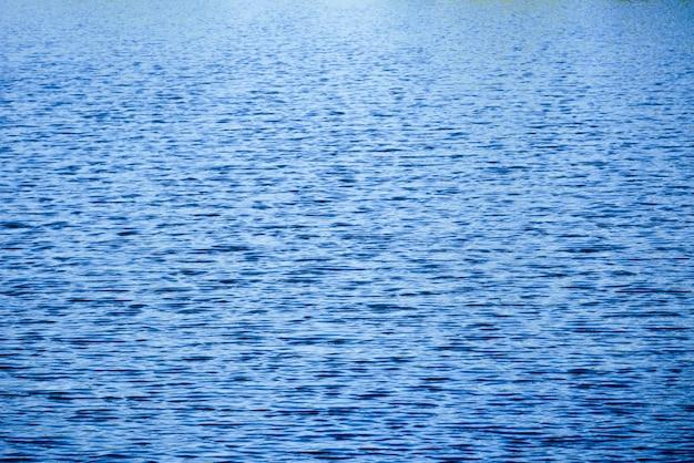 Texture de fond abstrait bleu foncé cascade vague eau Photo Premium