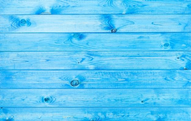 Texture De Fond De Bois Bleu Avec Des Motifs Naturels Photo Premium