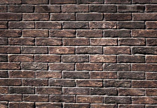 Texture de fond de brique brun rouillé Photo gratuit