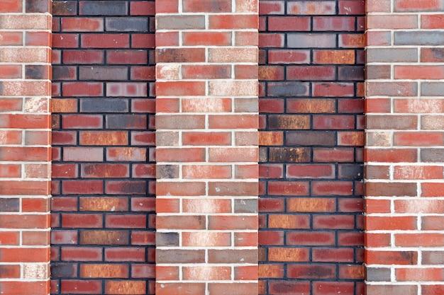 Texture De Fond De Mur De Brique Rouge   Photo Premium