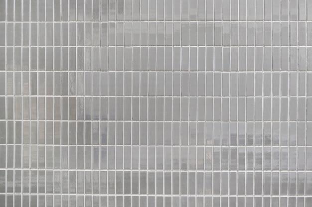 Texture de fond de mur de carreaux gris vieux Photo Premium