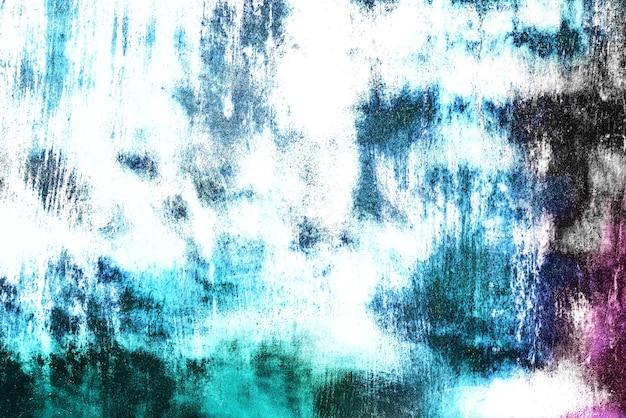Texture De Fond D'un Mur Métallique Avec Des Fissures Et Des Rayures Photo Premium