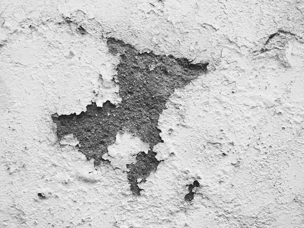 Texture De Fond De Plâtre Mur Blanc Endommagé Photo gratuit