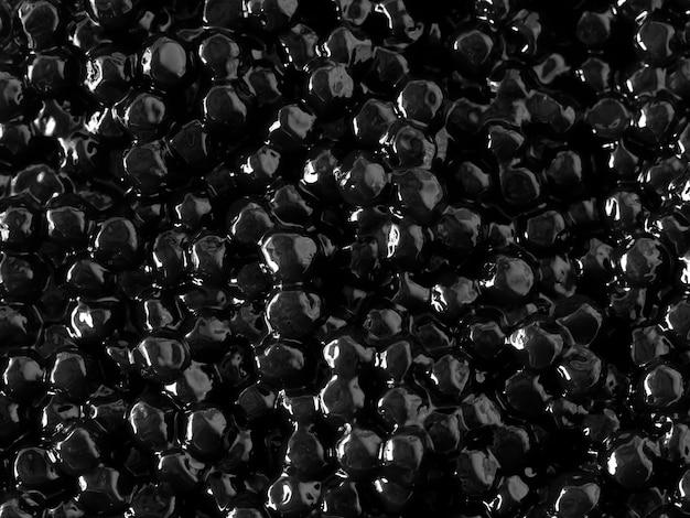 Texture de gelée noire pour le fond Photo Premium