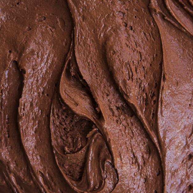 Texture de glace au chocolat Photo gratuit