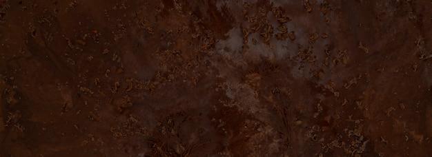 Texture de la glace au chocolat. Photo Premium