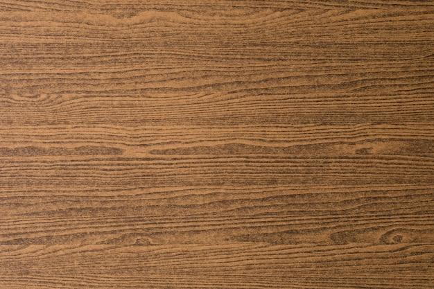 Texture de grain en bois brun foncé horizontale avec espace de copie pour texte Photo Premium