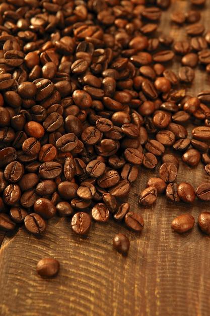 Texture De Grains De Café Grillés Photo Premium