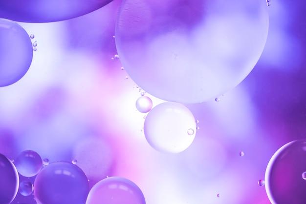 Texture de grandes bulles violettes abstraites Photo gratuit