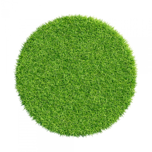 Texture d'herbe verte abstraite Photo Premium