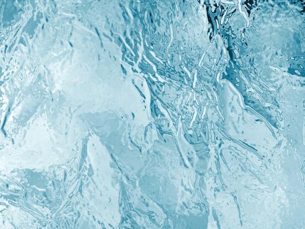 Texture illustrée de la glace congelée Photo Premium