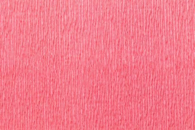 Texture jaune fond de papier ondulé ondulé, gros plan. Photo Premium