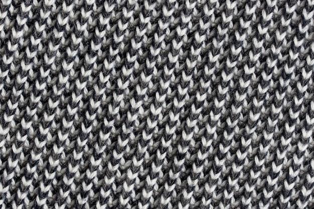 Texture De Laine Tricotée Photo Premium