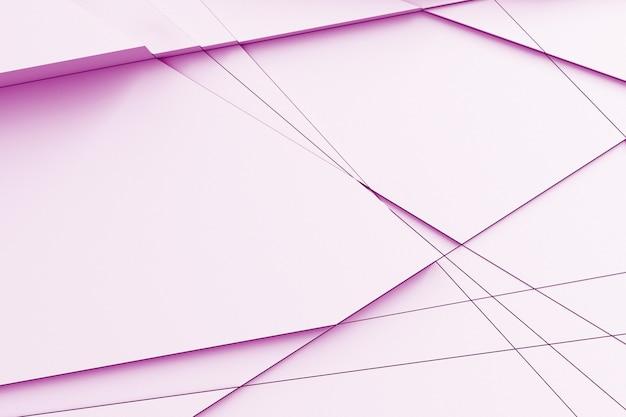 Texture légère abstraite. l'avion disséqué en plusieurs morceaux à différents niveaux Photo Premium