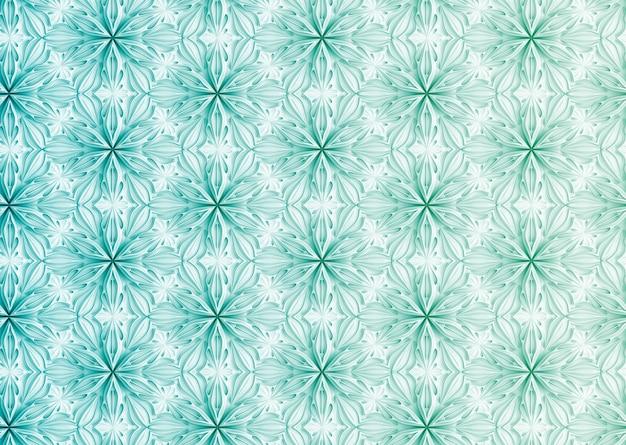 Texture Légère Transparente De Pétales De Fleurs élégantes En Trois Dimensions Basées Sur L'illustration 3d De Grille Hexagonale Photo Premium