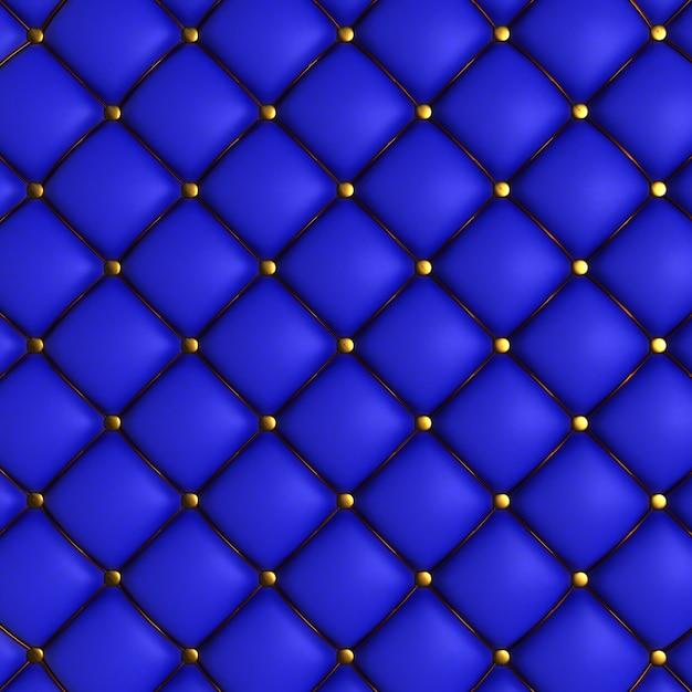 Texture matelassée bleu Photo gratuit