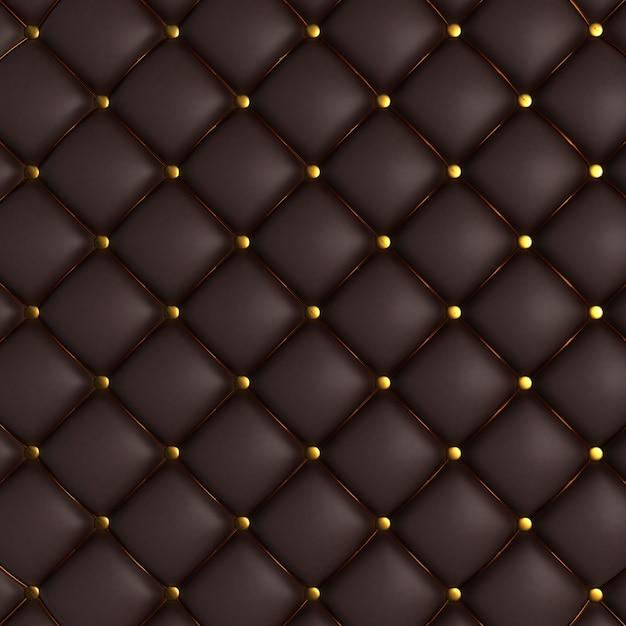 Texture Matelassée Noir Photo gratuit