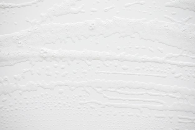 Texture de mousse savonneuse abstrait blanc Photo Premium
