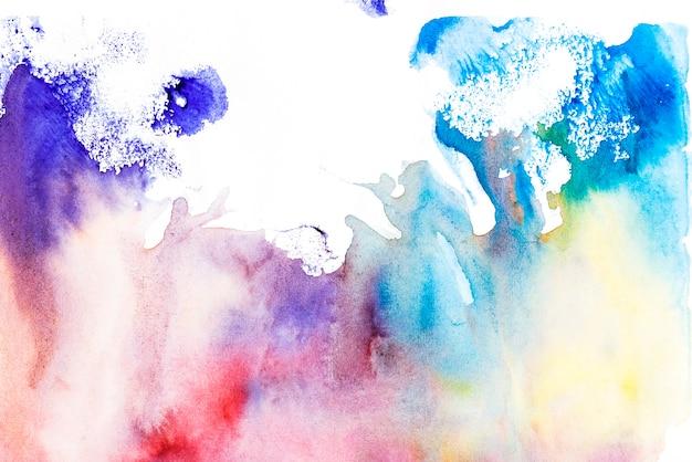 Texture multicolore sur fond blanc Photo gratuit