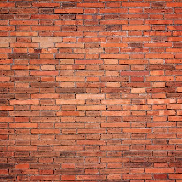 Texture De Mur De Brique Rouge Pour Le Fond   Photo Premium