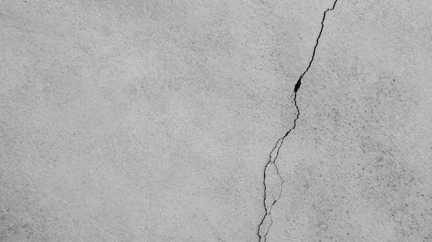 Texture de mur de ciment de crack - fond Photo Premium