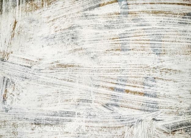 Texture De Mur Peint En Blanc Et Gris. Fond Grunge Avec Copie-espace Photo Premium