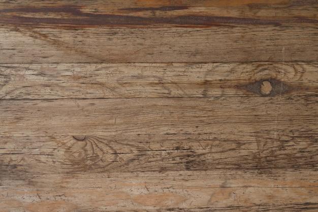 Texture de panneau de bois vintage ou vue de dessus du bureau pour
