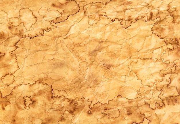 Texture De Papier Ancien, Fond De Papier Vintage, Papier Ancien Avec Des Bords Rugueux Photo Premium